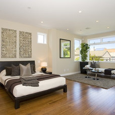 Contemporary Bedroom by Hyline Construction, Inc.