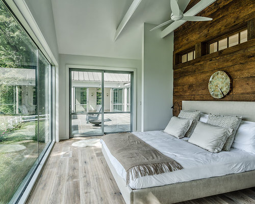 Reclaimed Wood Feature Wall Houzz