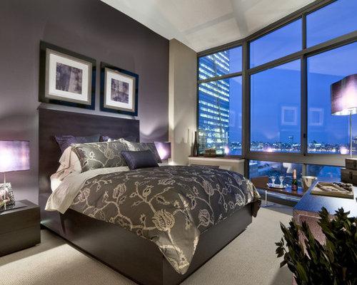 Best Dark Purple Bedroom Wall Design Ideas Remodel Pictures – Dark Purple Bedroom