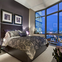 contemporary bedroom by Window Works