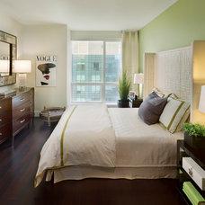Contemporary Bedroom by Gacek Design Group, Inc.