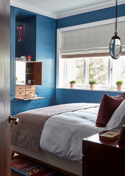 Модернизм Спальня by Claudia Dorsch Interior Design Ltd