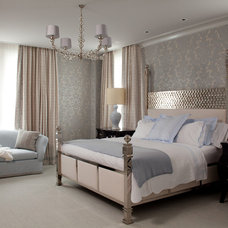 Contemporary Bedroom by amanda nisbet