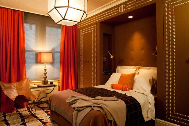 Contemporary Bedroom by amanda nisbet