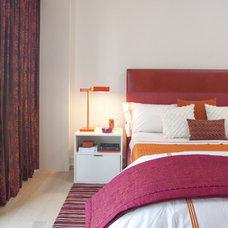 Contemporary Bedroom by Jessica Lagrange Interiors