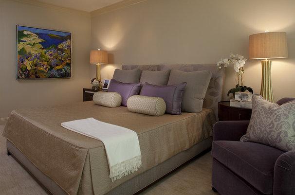 Contemporary Bedroom by Kendall Wilkinson Design