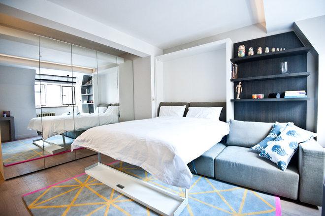 Современный Спальня by Black and Milk   Interior Design   London