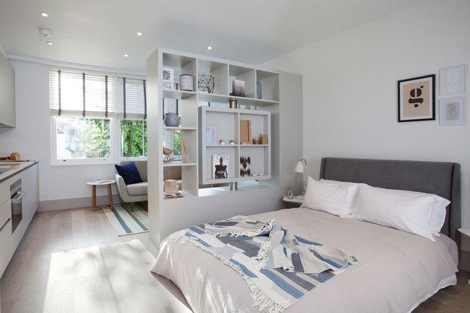 Scandinavian Bedroom by Elayne Barre Photography