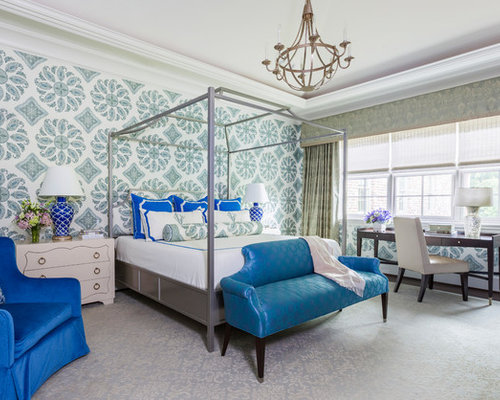 Master Bedroom Wallpaper Ideas | Houzz