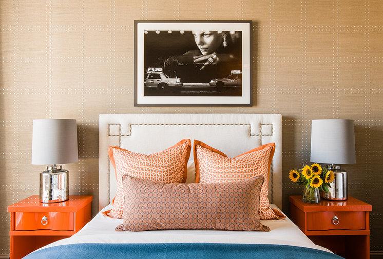 Современный Спальня by Terrat Elms Interior Design