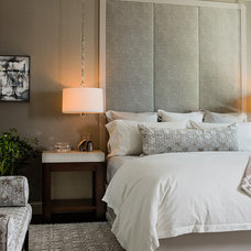 Contemporary Bedroom by Terrat Elms Interior Design