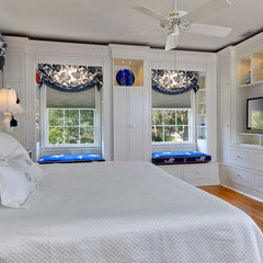 traditional bedroom by Jerome H. Davis Interiors, LLC