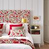 Mjuka sänggavlar i färg och mönster