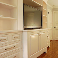 Traditional Bedroom by John Samuel Custom Cabinetry