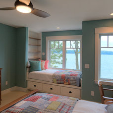 Beach Style Bedroom by MAC Custom Homes