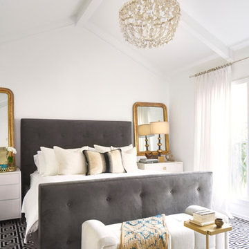 Classic Eclectic Hyde Park Master Bedroom
