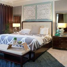 Contemporary Bedroom by Design Studio 15