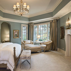 Traditional Bedroom by Marsha Jones Interior Design, Ltd.