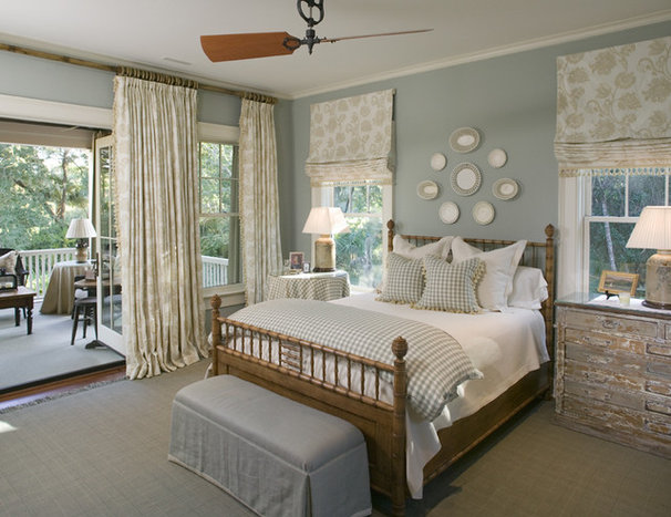 Traditional Bedroom by Christopher A Rose AIA, ASID