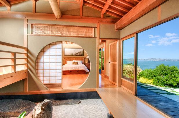 interni di case in stile giapponese
