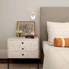 contemporary bedroom by Holly A. Kopman Interior Design