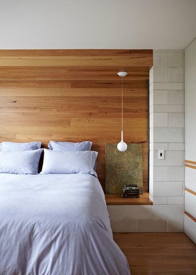 Contemporary Bedroom by Brickworks Building Products