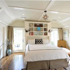 Transitional Bedroom by Michael Lauren Development LLC