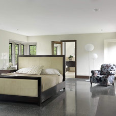 contemporary bedroom by Studio Durham Architects
