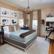 Traditional Bedroom by TY LARKINS INTERIORS