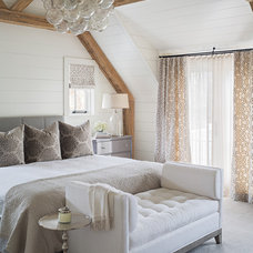 Transitional Bedroom by Sophie Metz Design