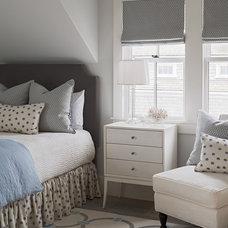 Transitional Bedroom by Sophie Metz Design