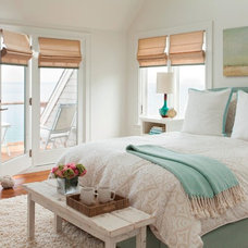 Beach Style Bedroom by LeBlanc Design