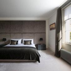 Contemporary Bedroom by KR Interior Design
