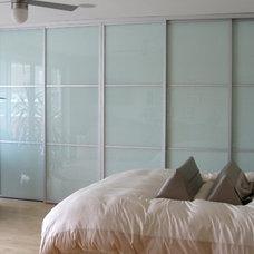 Contemporary Bedroom by The Sliding Door Company Canada