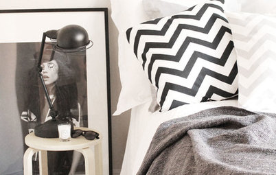 Decorating: How to Elegantly Decorate With Black and White