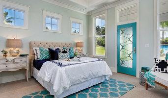 Coastal Chic Style Doors