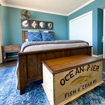 Coastal Condo guest bedroom