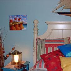 Eclectic Bedroom Coastal Cottage Bedroom