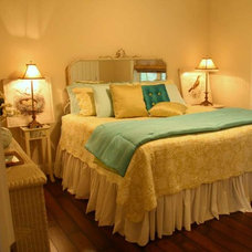 Eclectic Bedroom by Cowan Incorporated