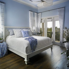 Beach Style Bedroom by Mary Washer Designs