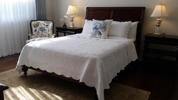 Traditionelle Schlafzimmer von Design-Projekt-Manager/Ethan-Allen-Agoura Hills CA