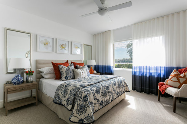 Beach Style Bedroom by Adam Scougall Design