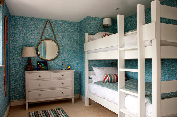 Superb Beach Style Bedroom by Cotton Tree Interiors