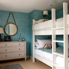 Beach Style Bedroom by Cotton Tree Interiors