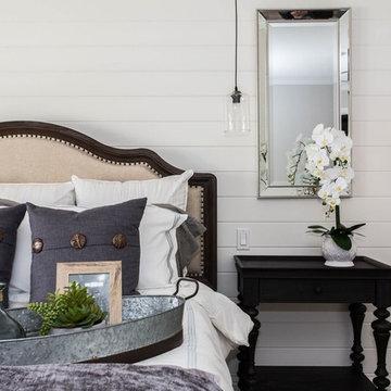 Coastal Home Master Bedroom