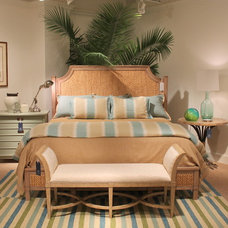 Tropical Bedroom by Custom Furniture World