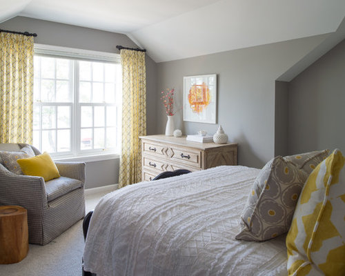 Grey And Yellow Color Scheme Home Design Ideas Pictures