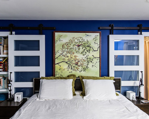royal blue walls | houzz