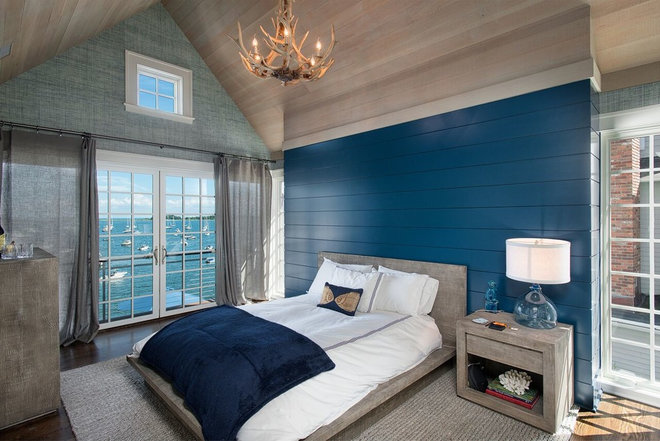 Beach Style Bedroom by Fletcher Development LLC