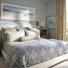 Traditional Bedroom by Wesley-Wayne Interiors, LLC